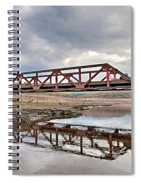 Ghost Bridge - Colebrook Reservoir Spiral Notebook