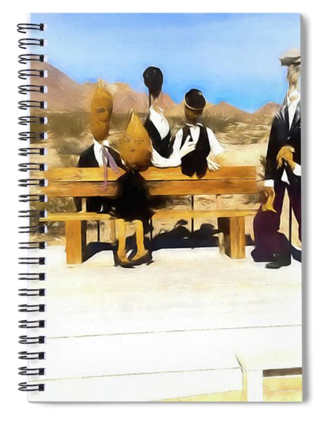 Ghost Family Spiral Notebook