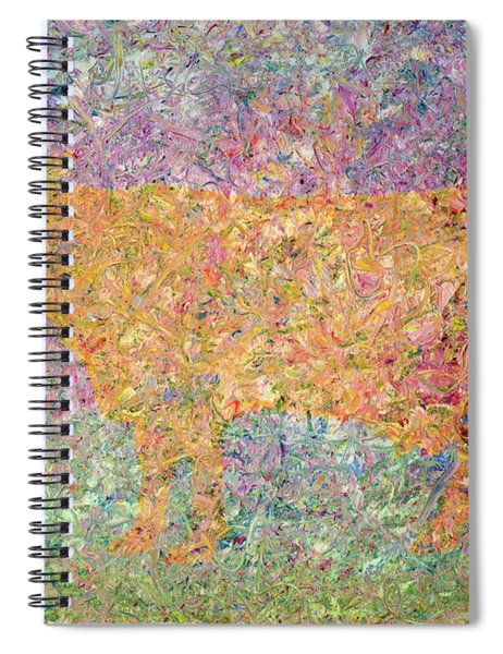 Ghost Of A Cow Spiral Notebook