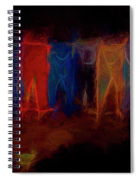 Ghost Wash Spiral Notebook