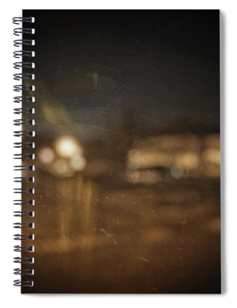 ghosts I Spiral Notebook