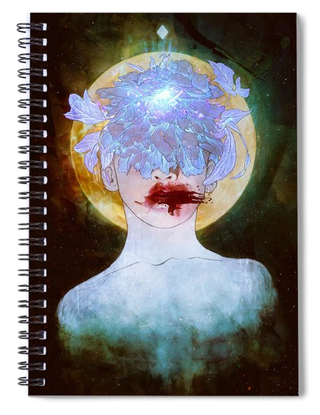 Ghosts Spiral Notebook