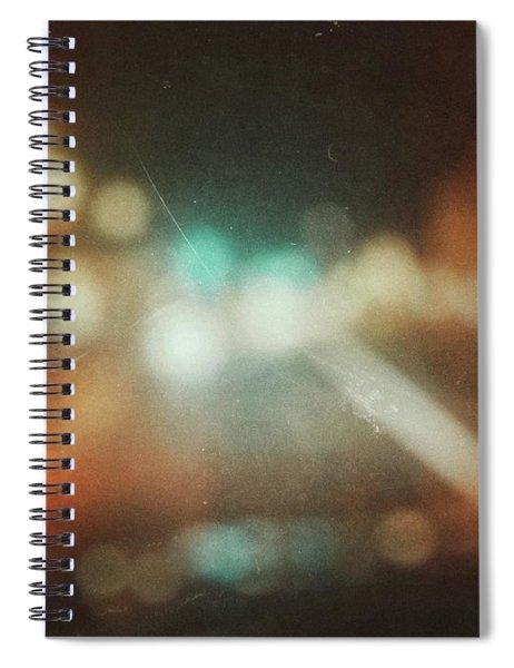 ghosts V Spiral Notebook