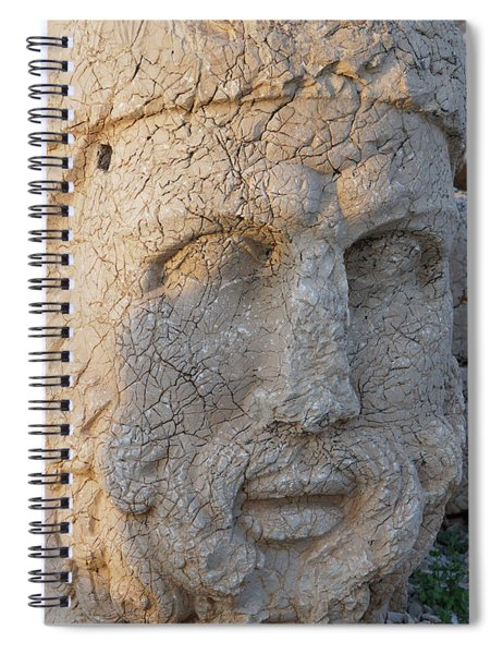 Giant Head Of Heracles,  Tumulus Spiral Notebook