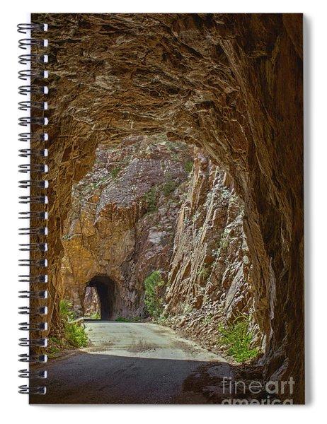 Gilman Tunnels Spiral Notebook