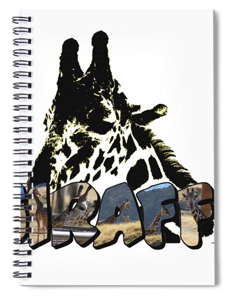 Giraffe Big Letter Spiral Notebook