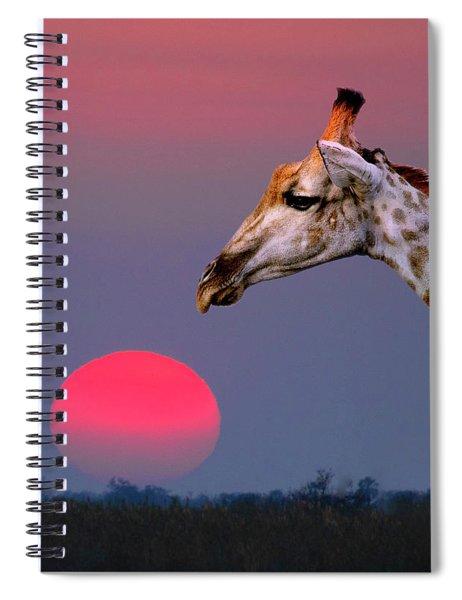Giraffe Composite Spiral Notebook