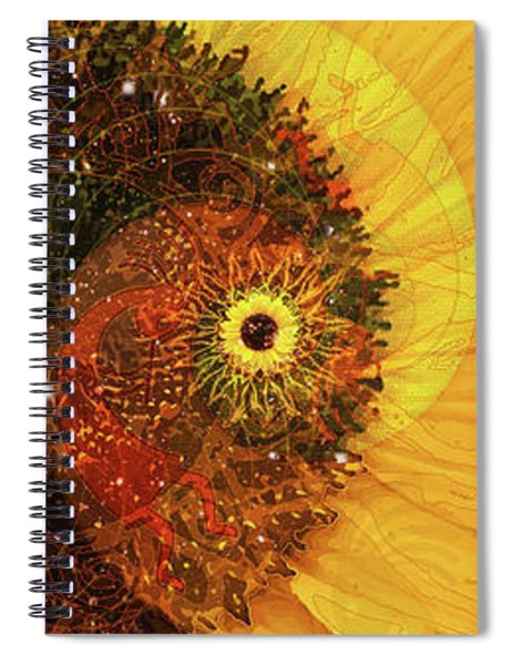 Girasole Spiral Notebook