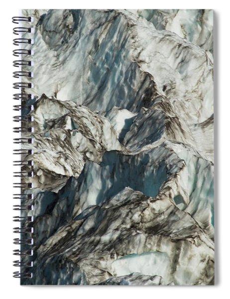 Glacier Ice 1 Spiral Notebook