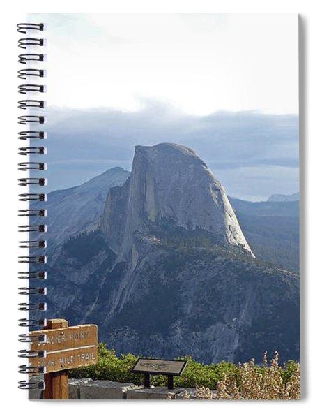 Glacier Point Spiral Notebook