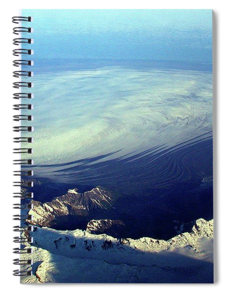 Glacier Pushes Out Spiral Notebook