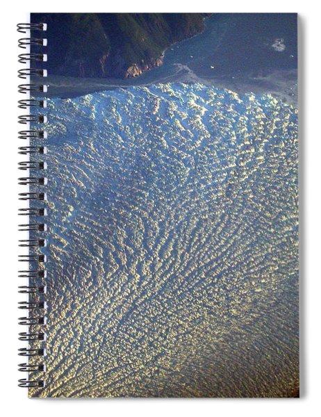 Glacier Texture Spiral Notebook