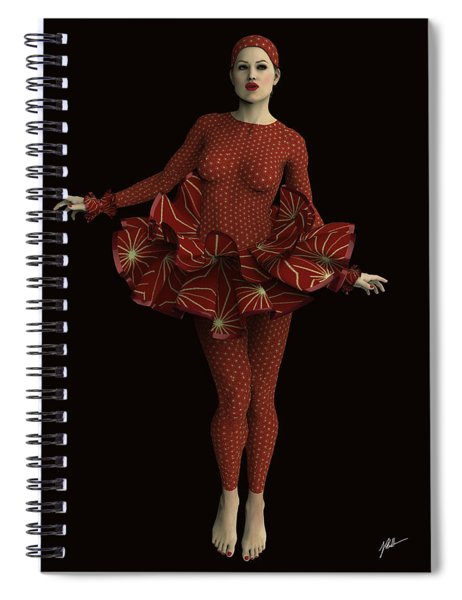 Glamor Pierrette Spiral Notebook