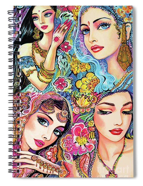 Glamorous India Spiral Notebook
