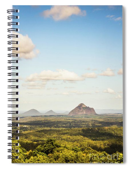 Glass House Minimalism Spiral Notebook