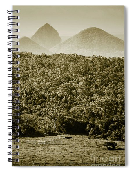Glass House Mountains Spiral Notebook