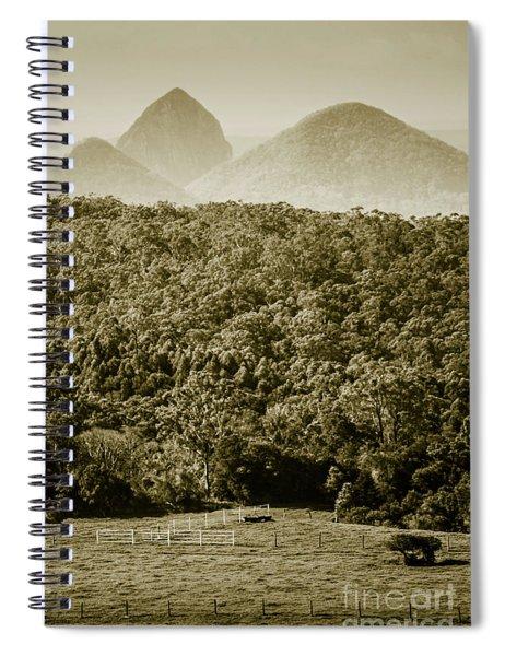 Glass House Mountains Spiral Notebook
