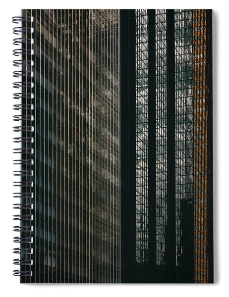 Glass Walls Spiral Notebook