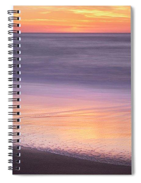 Gleneden Beach Sunset Spiral Notebook