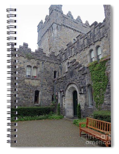 Glenveagh Castle Entrance Spiral Notebook