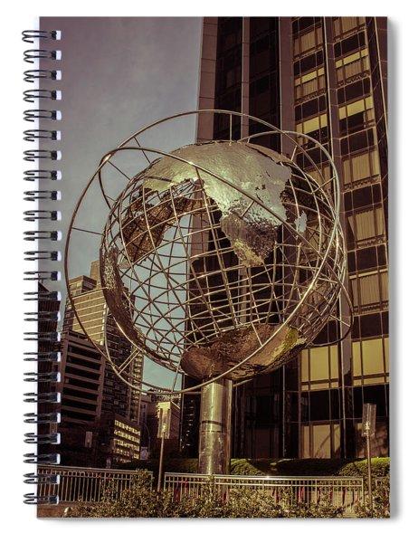 Globe 2 Spiral Notebook