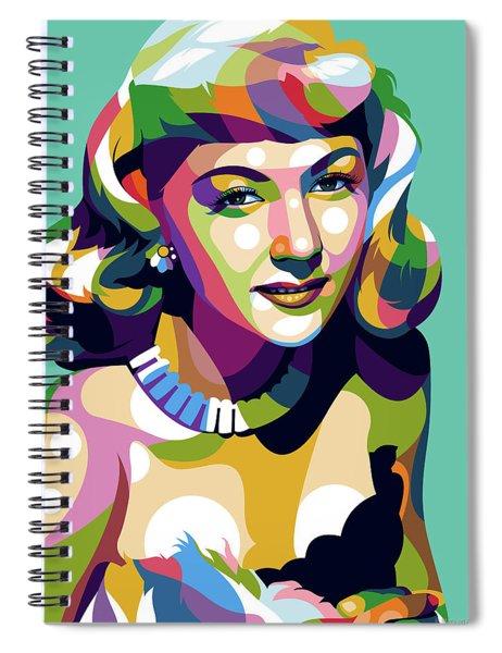 Gloria Graham Spiral Notebook