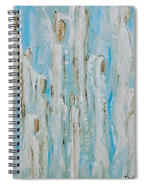 Glorifying Angels Spiral Notebook