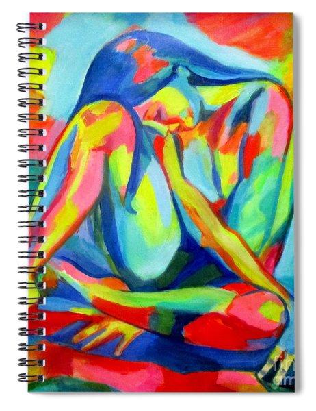 Glowing Solitude Spiral Notebook