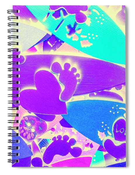 Gnarly Wipeout Spiral Notebook
