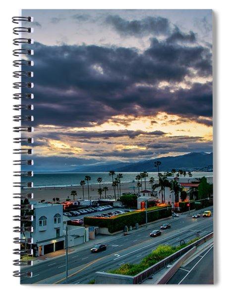 Go On Green Spiral Notebook