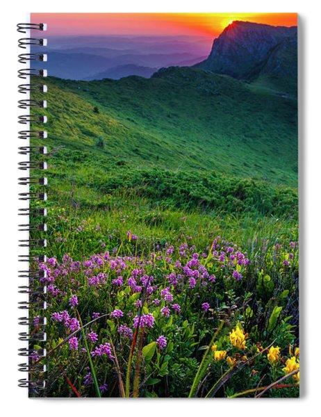 Goat Wall Spiral Notebook