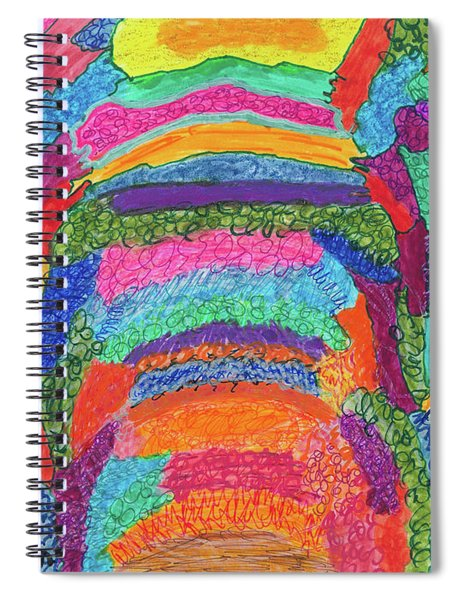 God Is Color - The Original Spiral Notebook