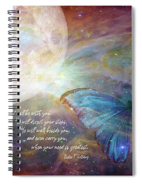 God Will Be With You Spiral Notebook