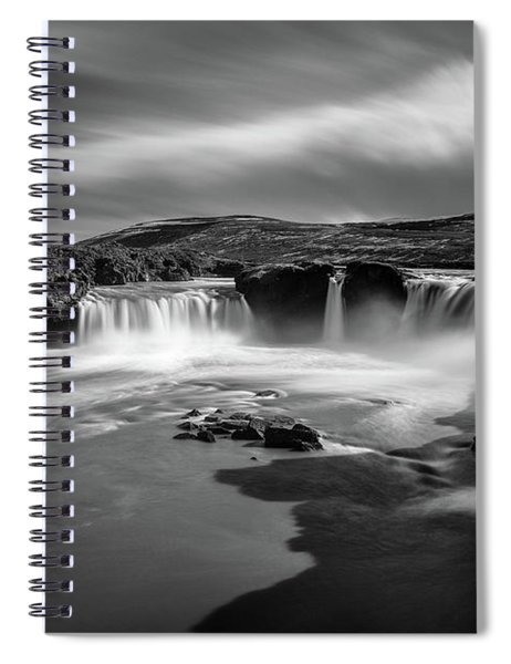 Godafoss Spiral Notebook