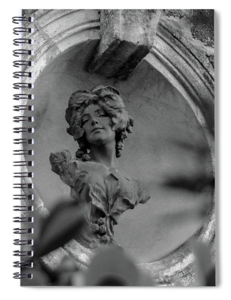 Goddess Unknown Spiral Notebook