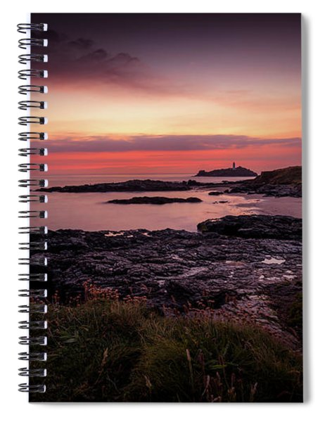 Godrevy Sunset - Cornwall Spiral Notebook