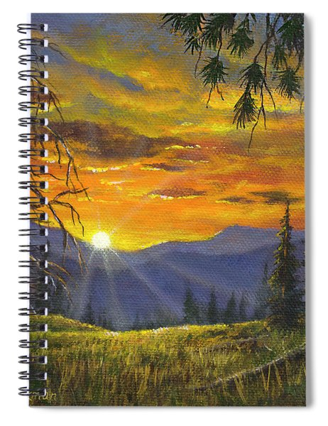God's Country Spiral Notebook