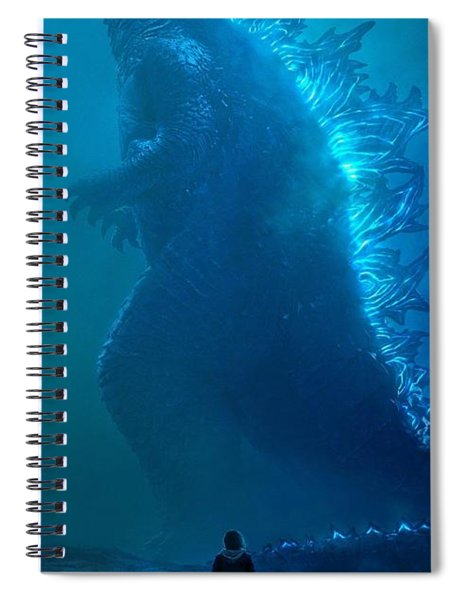Godzilla King Of The Monsters Trailer #2 2019 Spiral Notebook