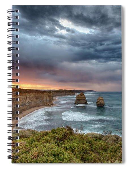 Gog And Magog Spiral Notebook