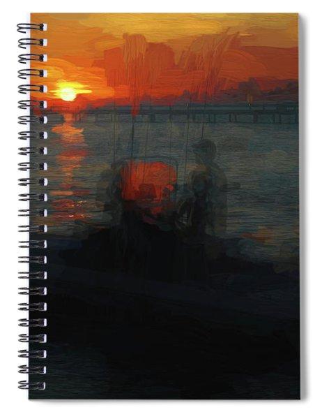 Going Fishin' Spiral Notebook