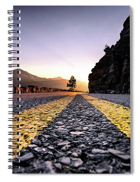 Going The The Sun Spiral Notebook