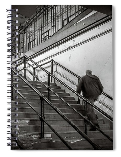 Going Up Spiral Notebook