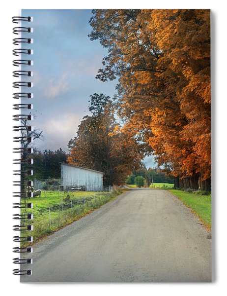 Going Up The Country Spiral Notebook