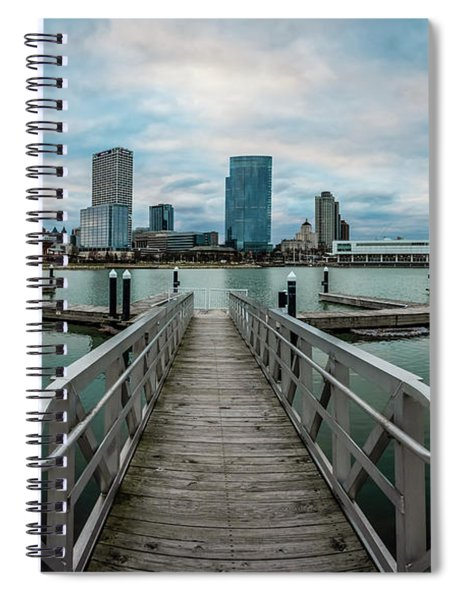 Going Wide At Lakeshore State Park Spiral Notebook