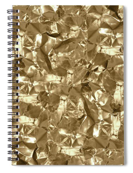 Gold Best Gift  Spiral Notebook
