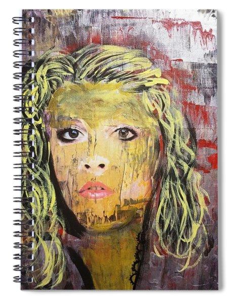 Gold Dust Woman Spiral Notebook
