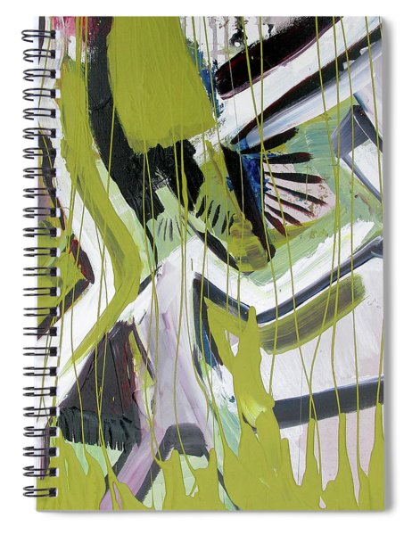 Gold Steps Spiral Notebook