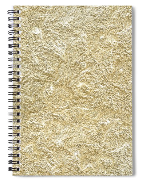Gold Stone  Spiral Notebook