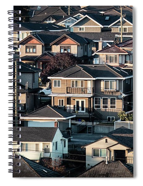 Golde Hour At Home Spiral Notebook