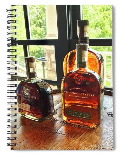 Golden Bourbon 2 Spiral Notebook
